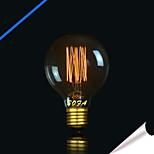 preiswerte -1pc 40W E27 E26/E27 E26 G80 K Glühbirne Vintage Edison Glühbirne Wechselstrom 110-130V Wechselstrom 220-240V V