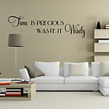 cheap -Shapes Wall Stickers Words & Quotes Wall Stickers Decorative Wall Stickers, Vinyl Home Decoration Wall Decal Wall Decoration