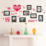 cheap -Florals Wall Stickers Plane Wall Stickers Decorative Wall Stickers Photo Stickers, Vinyl Home Decoration Wall Decal Wall