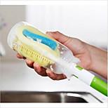 Недорогие -домашняя кухня чашка стеклянная бутылка горшок очистки стиральная губка щетка случайный цвет