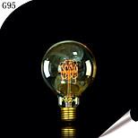 Bofa G95 E27 40W Edison Art Deco Tungsten Light Bulb (85V-265V)