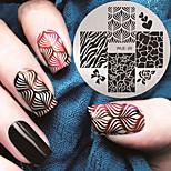 Недорогие -2016 г. Последние шаблон тиснения изображения пластины версия мода картины искусства ногтя