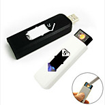 cheap -Mini Electronic Lighter Portable USB Rechargeable Flameless Cigar Cigarette Lighter