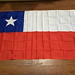 cheap -Chilean Flag 90 * 150Cm Our Flags Are Sold World To Sample Custom-Quality Polyester Celebration Decoration