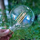 bofa g125 led 4w dimmable lâmpada de incandescência branca ac85v-265v
