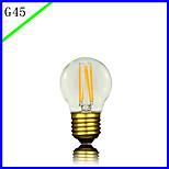 bofa levou g45 3w lâmpada de bolinha de seda de edison antiga de edison (85v-265v)
