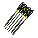 REWIN® TOOL Ball Bearing Steel Assorted Files Set With 6 Functions Size: Φ3mm*150mm