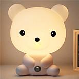 довольно мило Bruin мультфильм ночь свет животное комната ребенка спать светлая спальня настольная лампа ночник лучше всего подходит для