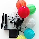 NO 5 M 20 ДИП светодиоды Теплый белый / белый / RGB / красный / синий / зеленый Водонепроницаемая 1,50 W Гирлянды AC100-240 V