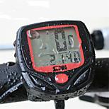 Велокомпьютер Горный велосипед Шоссейный велосипед Складной велосипед Водонепроницаемость Безпроводнлй Tme - истекшее время Удобный LED