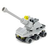 cheap -GUDI Toy Car Building Blocks 1pcs Tank Toy Gift