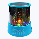 Недорогие -1 ед. Небесный проектор NightLight Разноцветный Батарея Перезаряжаемый