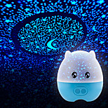 cheap -1pc Battery Stochastic Pattern  Night Light Lamp Domestic Projector Lamps  Starry Sky Brilliant Night-Light