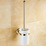 cheap -Toilet Brush Holder Antique Brass Polished Brass