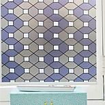 cheap -Geometric Contemporary Window Film, PVC/Vinyl Material Window Decoration Dining Room Bedroom Office Kids Room Living Room Bath Room Shop