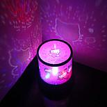 Недорогие -1 ед. Небесный проектор NightLight USB пластик 1 лампа 11.0*11.0*15.0cm
