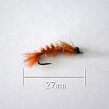 1 pcs Hard Bait Orange 5 g/1/6 oz. Ounce,27 mm/1