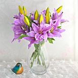 Недорогие -1 Филиал Другое Лилии Букеты на стол Искусственные Цветы