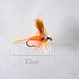 1pcs Hard Bait Orange 5 g/1/6 oz. Ounce,23 mm/1