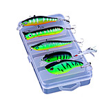 Green Devil Lures Fishing Bait Suit Explosion Models VIB Rock Gifts Pencil Bait Wave Pa Camino 5 PC/Set