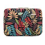 Недорогие -Рукава Чехол Цветы текстильный для MacBook Air, 11 дюймов / Macbook / Lenovo IdeaPad