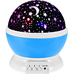 Three-Way Switch Rotate Romantic Colorful Sky Projection Light Dream Luminous Light Lamp LED