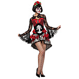 cheap -Ghostly Bride Cosplay Costume Party Costume Women's Halloween Festival / Holiday Halloween Costumes Solid Colored