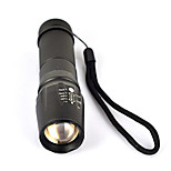 cheap -5-Mode 2000LM XML T6 LED Zoomable Focus Adjustable Flashlight Torch Lamp