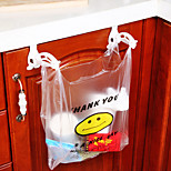 cheap -2Pcs Receive Non-Trace  Folding Hanging Plastic Garbage Bags