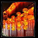 cheap -Halloween Pumpkin  Decorations Paper Lantern Bar Is Decorated  Portable Jack Hanging Pumpkin  With a beard  20cm