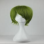 New Kuroko no Basuke Midorima Shintaro 32cm Short Synthetic  Army Green Cosplay  Wig