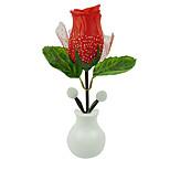 la moda caliente llevó la luz de la noche rosa rosa decoración de hogar de la lámpara llevó la lámpara de pared