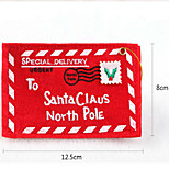 Недорогие -Рождественская елка кулон нетканое конверт рождественские открытки случайным
