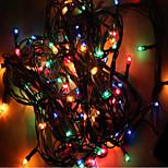 mx-QCD 100l chaîne de lumières de décorer 10 mètres apporter noël vacances lumières de l'arbre clignotantes changement automatique des