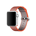 cheap -Watch Band for Apple Watch Series 3 / 2 / 1 Apple Classic Buckle Nylon Wrist Strap
