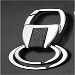 Недорогие -автомобильные металлические мужчины ключевой цепи творческой творческой пасты кожа