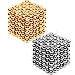 Magnet Toys 432 Pieces MM Stress Relievers DIY KIT Magnet Toys Super Strong Rare-Earth Magnets Magnetic Balls Metal DIY Office Desk Toys