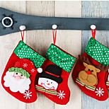 cheap -Christmas Stocking Christmas Decorations Accessories   Randomly