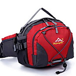 20 L Waist Bag/Waistpack Daypack Cycling Backpack Travel Duffel Leisure Sports Camping & Hiking Traveling RunningWater Bottle Pocket