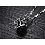 Men's Pendant Necklaces Jewelry Titanium Steel Personalized Jewelry For Party