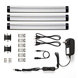 Недорогие -LED освещение для шкафчиков Тёплый белый / Естественный белый Светодиодная лампа 3 шт.
