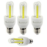 E26/E27 LED Corn Lights T 4 leds COB 210lm Cold White 6000K Decorative AC 85-265