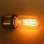 preiswerte -1pc 25W E27 E26/E27 E26 T45 K Glühbirne Vintage Edison Glühbirne Wechselstrom 110-130V Wechselstrom 220-240V V