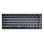 Ajazz AK33 Gaming Keyboard, 82 Classic Layout Keys,Transparent Axis Switch