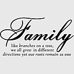 cheap -Words & Quotes Wall Stickers Plane Wall Stickers Decorative Wall Stickers, Vinyl Home Decoration Wall Decal Wall Decoration