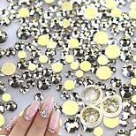 Недорогие -500 Nail Art Decoration горный хрусталь жемчуг макияж Косметические Nail Art Design