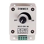 PWM Dimming Controller For LED Lights or Ribbon 12 Volt 8 AmpAdjustable Brightness Light Switch Dimmer Controller DC12V 8A 96W for Led Strip Light