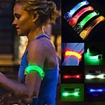 Недорогие -1шт творческие Спортивный праздник партии мигания свет водить зарева повязкой пояса многоцветный случайный цвет