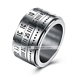 Men's Knuckle Ring Nail Finger Rings Band Rings Fashion Personalized Stainless Steel Round Jewelry For Daily Casual