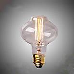D80 Edison's Straight Wire Lantern Restaurant Bar Retro Decorative Lamp